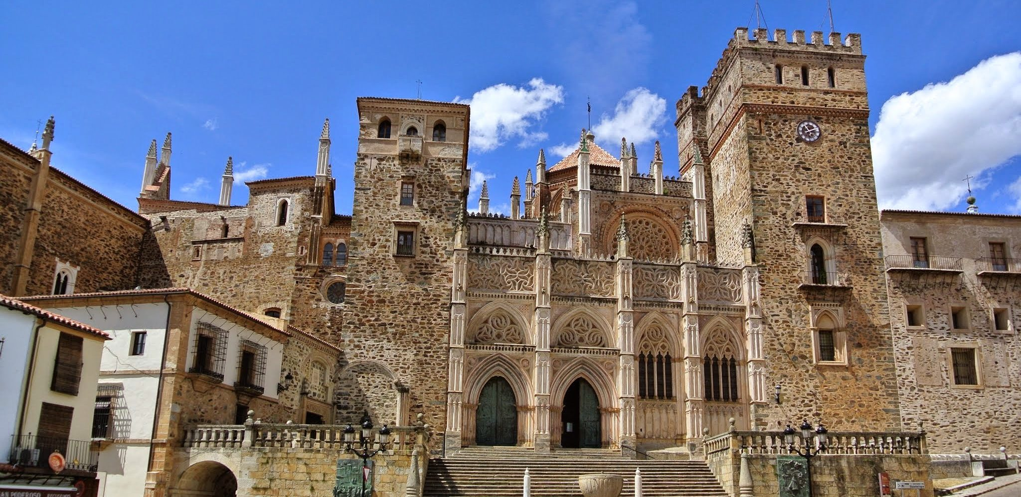 Guadelupe Cathedral in Cáceres